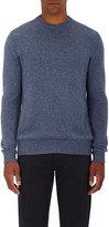 Ermenegildo Zegna Men's Fine-Gauge Cashmere Sweater-LIGHT BLUE