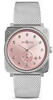 Bell & Ross Br S Novarosa Diamond Watch, 39mm