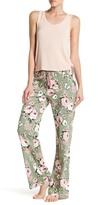 PJ Salvage Coming Up Roses Smocked Lounge Pants