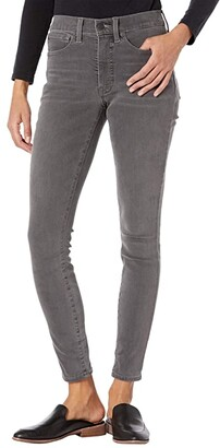 Lucky Brand High-Rise Bridgette Skinny Jeans in Smoke (Smoke) Women's Jeans