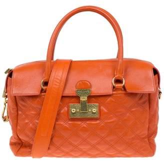 Marc Jacobs Orange Leather Handbags