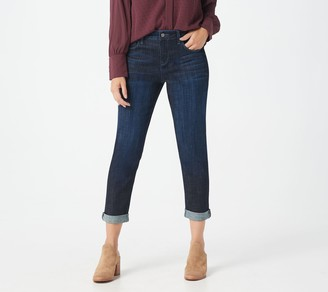 Laurie Felt Classic Denim Cropped Weekender Jeans