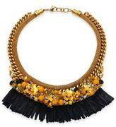 Lizzie Fortunato Tortola Beaded Hula Fringe Necklace