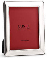 "Cunill America Siena Sterling Silver Picture Frame - 8"" x 10"""
