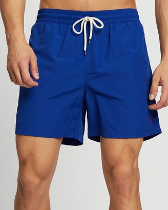 Polo Ralph Lauren Men's Blue Boardshorts - Traveler Swim Boxers - Size S at The Iconic