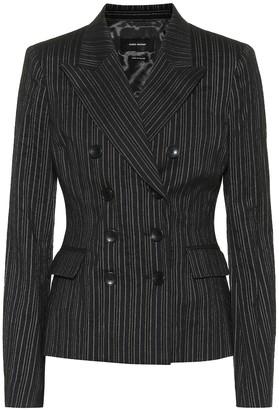 Isabel Marant Kyla pinstripe wool-blend blazer