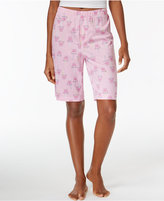 Hue Summer Punch Knit Bermuda Pajama Shorts