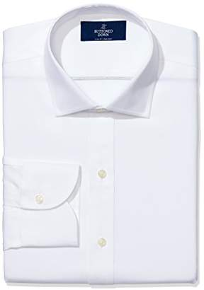 Buttoned Down Men's Slim Fit Non-Iron Shirt with Kent Collar, ()