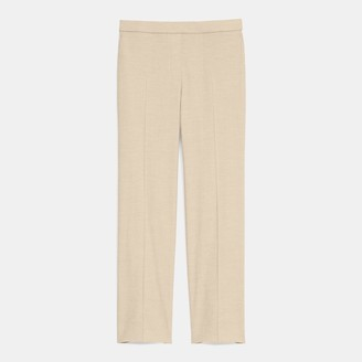 Theory Treeca Pull-On Pant in Textured Good Linen