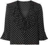 Dorothy Perkins Spot Tie Front Cover Up