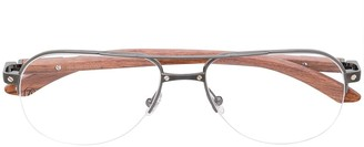 Cartier Marquetry glasses