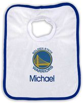 Designs by Chad and Jake 2-Pack Personalized Golden State Warriors Bib