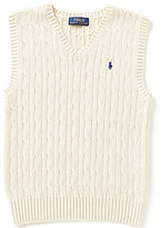 Ralph Lauren Little Boys 2T-7 Cable-Knit Vest