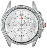 Michele Women's Belmore Chronograph 18mm Stainless Steel Diamond Watch