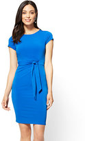 New York & Co. Cap-Sleeve Sheath Dress