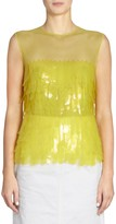 Dries Van Noten Sleeveless Paillette Top