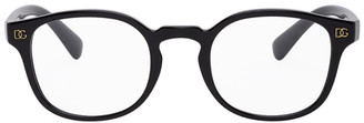 Dolce & Gabbana Black Monogram Glasses