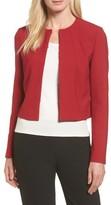 BOSS Women's Jenisa Ponte Knit Crop Jacket