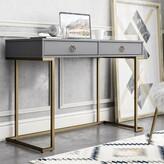 Cosmoliving By Cosmopolitan Camila Desk CosmoLiving by Cosmopolitan Color: Graphite Gray