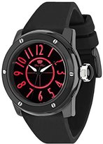 Glam Rock Women's Aquarock 42mm Black IP Steel Bracelet & Case Swiss Quartz Analog Watch GR50014F