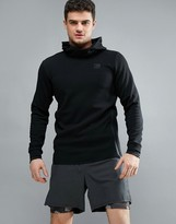 Jack & Jones Tech Hoodie With Raised Neck Detail