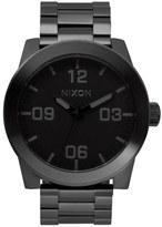 Nixon 'The Corporal' Bracelet Watch, 48mm