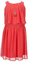 I.N. Girl Little Girls 4-6X Sleeveless Popover Dress