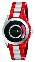 01 The One 01TheOne AN08G04 42mm Stainless Steel Case Red Resin Mineral Men's Watch