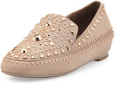 Ivy Kirzhner Studded Leather Loafer, Cuoio