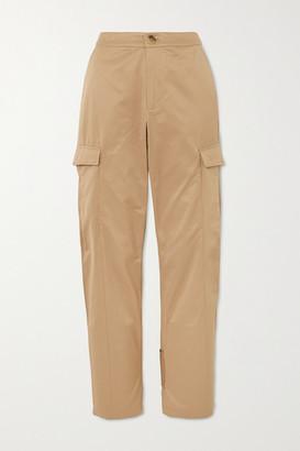 HOLZWEILER Dundersalt Straight-leg Cotton-blend Twill Pants - Beige