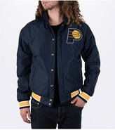 J H DESIGN GROUP Men's JH Design Indiana Pacers NBA Reversible Zig Zag Jacket