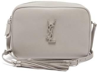 Saint Laurent Lou Medium Leather Cross-body Bag - Womens - Light Grey