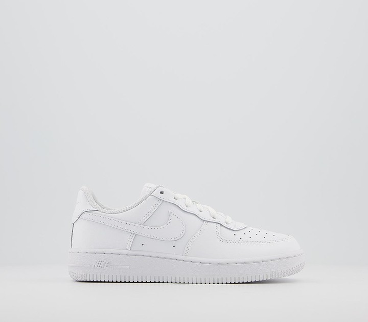 Nike Force 1 Youth Trainers White