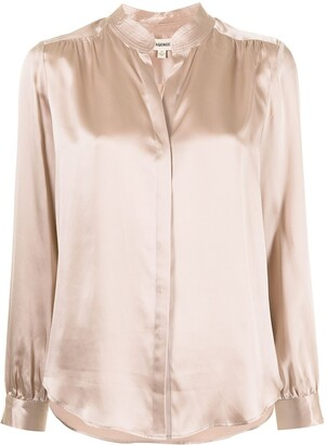 L'Agence Bianca long-sleeve shirt