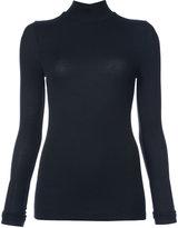 ATM Anthony Thomas Melillo high neck slim-fit blouse
