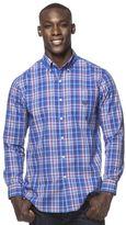 Chaps Men's Linear Plaid Button-Down Shirt