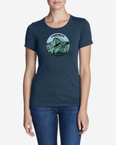 Eddie Bauer Women's Graphic T-Shirt - Yosemite Rules