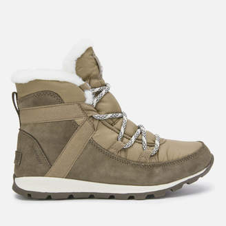 Sorel Women's Whitney Flurry Waterproof Suede/Leather Hiking Style Boots - Major - UK 3