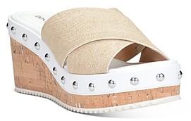 Donald J Pliner Women's Idraa Cork Wedge Heel Sandals