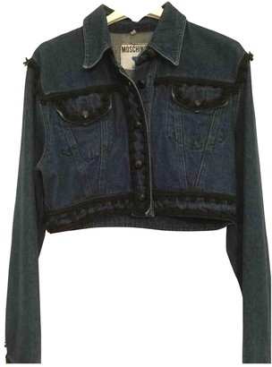 Moschino Navy Denim - Jeans Jacket for Women