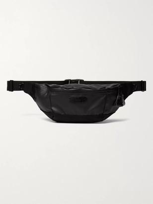 MASTERPIECE Slick Cordura-Trimmed Coated-Shell Belt Bag