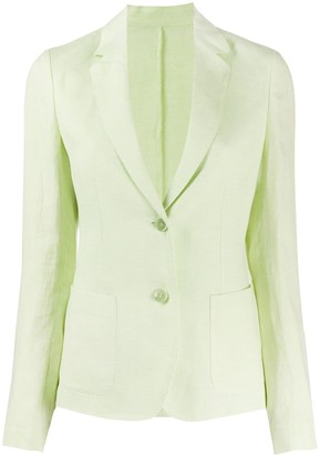 Malo Tailored Linen Blazer