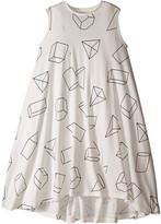 Nununu Geometric 360 Tank Dress (Little Kids/Big Kids)
