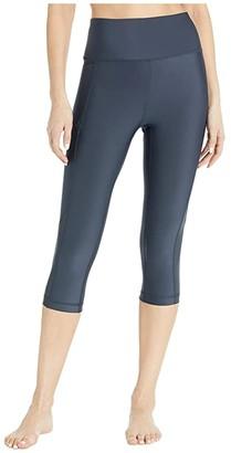 Lole Burst Capris (Black) Women's Casual Pants