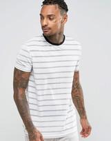 Asos Loungewear Metallic Stripe T-shirt