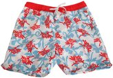 Soul Star Soulstar Mens Bright Floral Patterned Swim Shorts