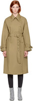 3.1 Phillip Lim Khaki Double-faced Trench Coat