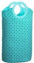 Pottery Barn Teen Easy Carry Laundry Bag, Aqua Geo Rings
