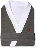 Jockey Men's Waffle-Weave Kimono Robe