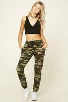 Forever 21 FOREVER 21+ Camo Print Sweatpants